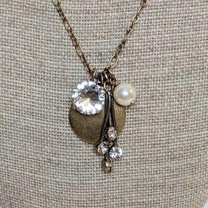 J. Crew Jewelry - J. Crew Long Chain Pendant Necklace